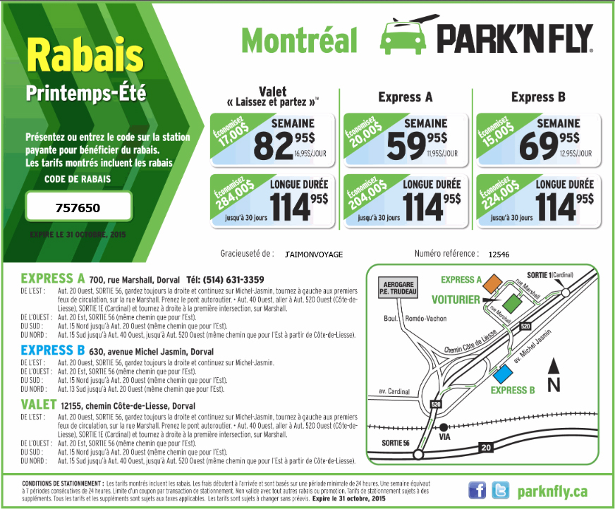Parknfly coupons valet toronto discount codes